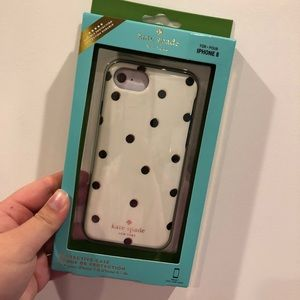 iPhone 8/7/6s/6 Kate Spade NY polka dot Phone Case